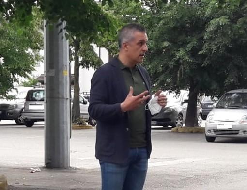 Il sindaco di Cassano Magnago, Nicola Poliseno