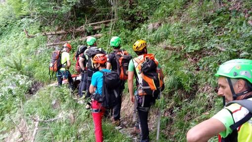 Ancora nessuna traccia del sessantacinquenne di Cardano al Campo disperso da ieri in Val Grande