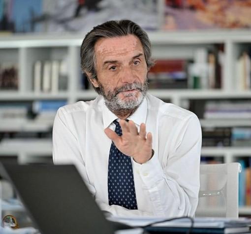 Aime Varese incontra Attilio Fontana