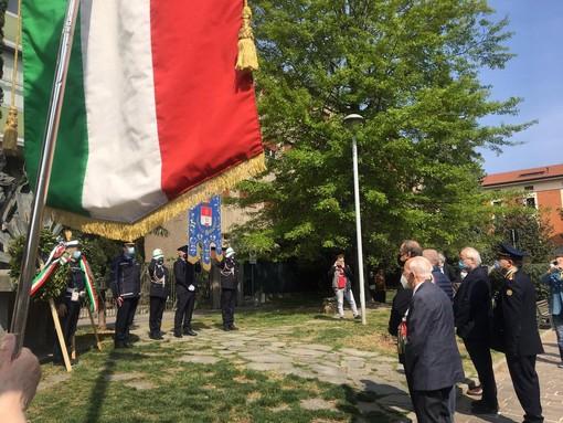 Momenti e tappe della cerimonia ufficiale del 25 Aprile a Busto