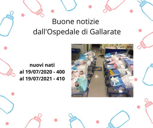 All'ospedale di Gallarate aumentano le nascite: «Controtendenza, segno di grande speranza»