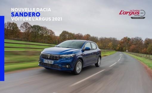 Nuova Dacia Sandero ha conquistato un altro premio: tutta la sua innovazione unita alla convenienza si può vedere negli store Renault Paglini