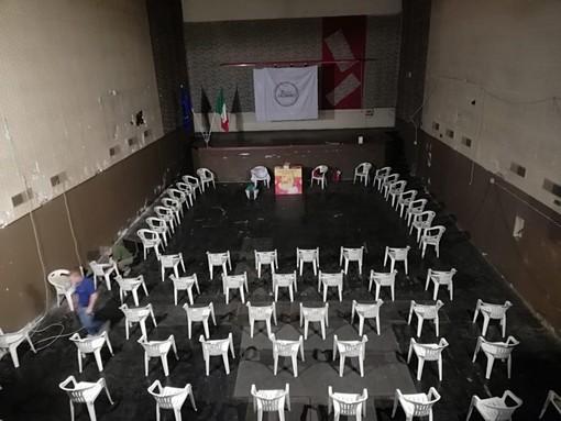 L'ex cinema Apollo di Fagnano ha ospitato la presentazione della lista