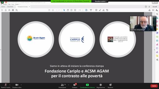 Acsm Agam e Fondazione Cariplo uniti contro le povertà lanciano il microcredito