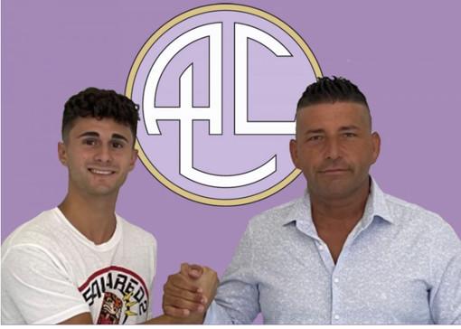 A sinistra: Alberto Barazzetta, nuovo acquisto giovane del Legnano