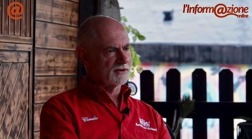 Claudio Caccin, presidente associazione dei Calimali di Fagnano Olona