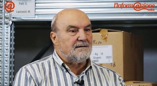 Norberto De Marchi, presidente e referente dell'associazione Pane di San Martino