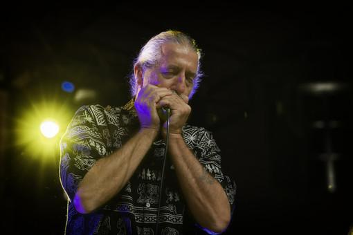 Fabio Treves e la sua Blues Band saranno al MaGa di Gallarate, venerdì sera