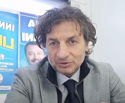 L'assessore Giorgio Mariani al gazebo virtuale