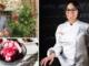 """Andrea Brognoli, Lucia Sapia e il """"crema Murnée"""": gelato fior di latte con infuso di lavanda e amarene poché alla stessa lavanda"""