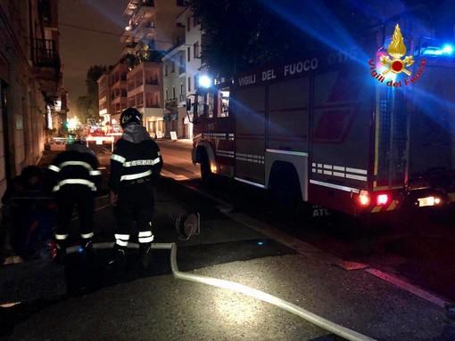 Maltempo, decine di interventi dei vigili del fuoco in tutta la provincia
