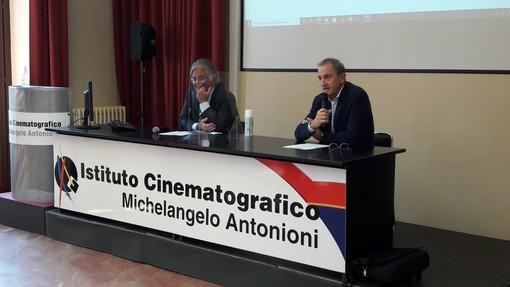 Il presidente del Baff, Alessandro Munari, e il sindaco di Busto, Emanuele Antonelli