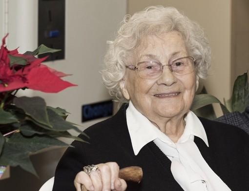 Olga Fiorini è nata il 13 gennaio 1927 a Sorgà, in Veneto