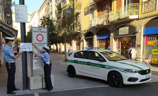 La polizia locale di Legnano ha monitorato la situazione nel weekend