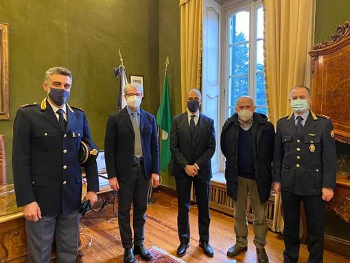 Il sindaco incontra il nuovo questore: «Benvenuto a Varese a nome di tutta la città»