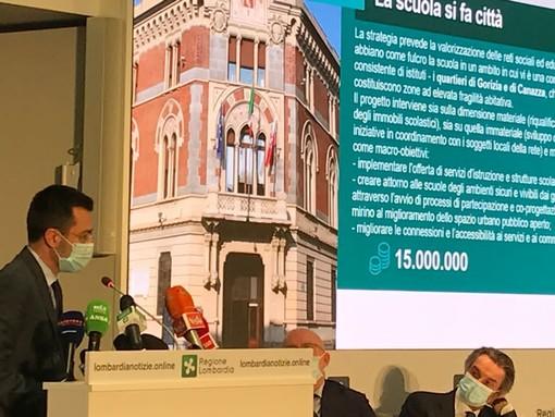 Il sindaco di Legnano Lorenzo Radice in Regione Lombardia