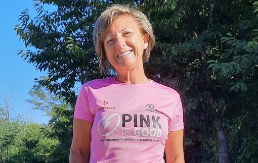 """La corsa di Angela Restelli contro la malattia: una sfida che va avanti come """"pink ambassador"""" per Legnano"""