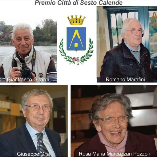 """Sesto Calende, sono quattro i """"cittadini benemeriti"""" premiati dal Comune"""