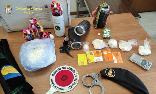 Dal Brasile, via Malpensa per arrivare in Trentino. La Guardia di Finanza blocca traffico internazionale di droga