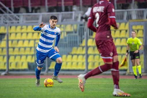 Tommaso Brignoli, autore del secondo gol, nella foto di Marco Giussani