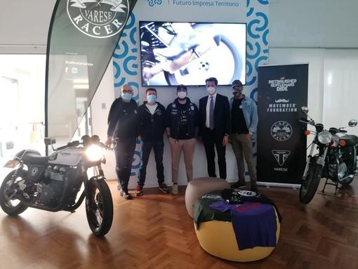 Centinaia di motociclisti in sella a Varese per la The Distinguished Gentleman's Ride