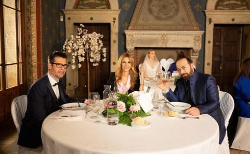 Villa Montevecchio a Samarate location di una trasmissione tv con Adriana Volpe