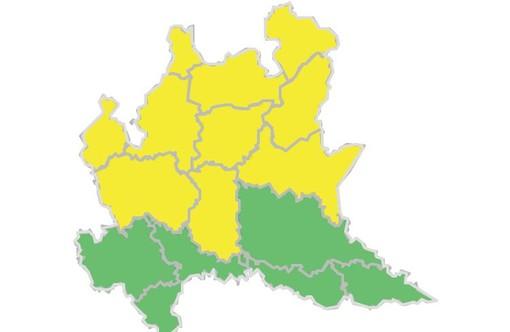 La grande afa nel Varesotto ha le ore contate: temporali in arrivo, allerta gialla della Protezione civile