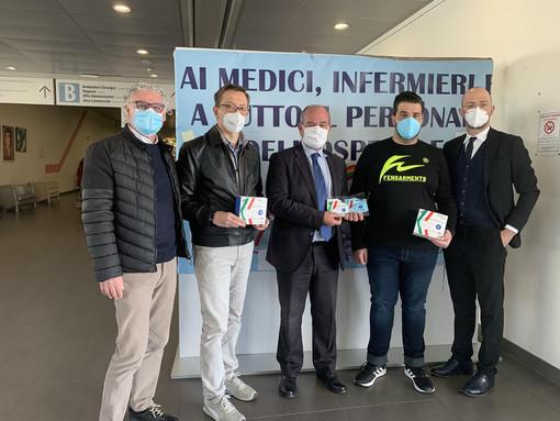 La donazione all'ospedale di Legnano