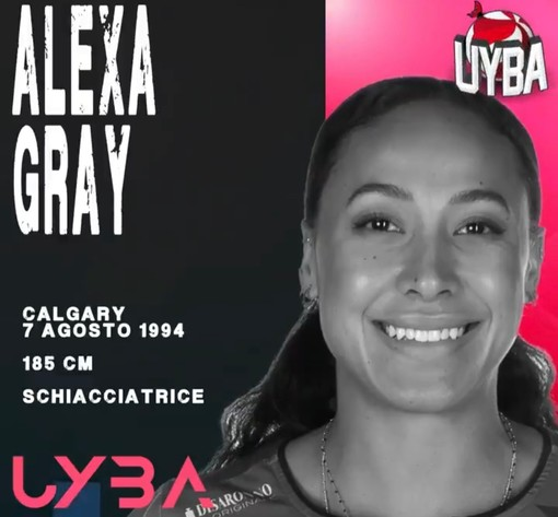 Uyba, altra conferma pesante: Alexa Gray c'è
