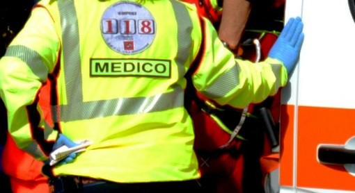 Castiglione, scontro auto moto in via Cesare Battisti: ferito motocicilista