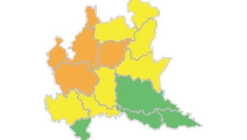 Temporali forti, l'allarme meteo sale da giallo ad arancione per la nostra provincia