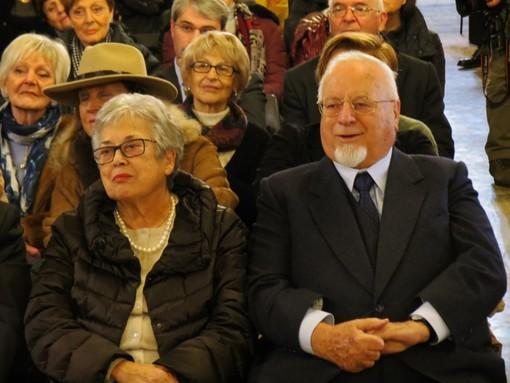 """Augusto Caravati con la sua Tiziana (foto tratta dal blog """"Pensieri & Parole Tre"""", che ringraziamo)"""