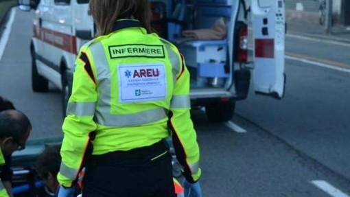 Anziano investito in via Torino a Gallarate: trasportato in codice rosso all'ospedale