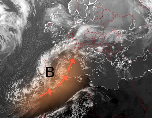 Polvere sahariana su Varese e provincia nella pioggia della prossima notte. Il Centro Geofisico: «Avete notato le nubi giallastre?»