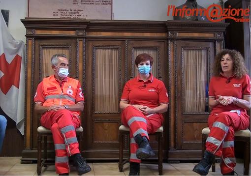 Dall'emergenza «affrontata a mani nude» al sogno della nuova sede. La Croce Rossa di Busto a #Backstage