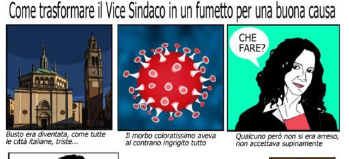 L'inizio del fumetto di Tiziano Riverso e la pagina completa
