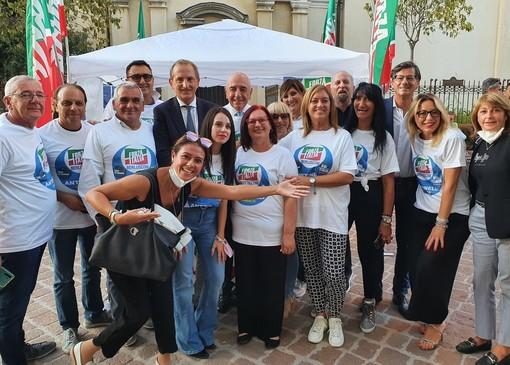 Galliani a Busto: «Grande entusiasmo in Forza Italia. Noi rappresentiamo il centro della coalizione»