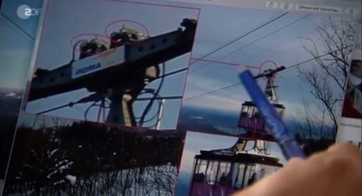 Un fermo immagine del video amatoriale finito al centro delle ultime indagini