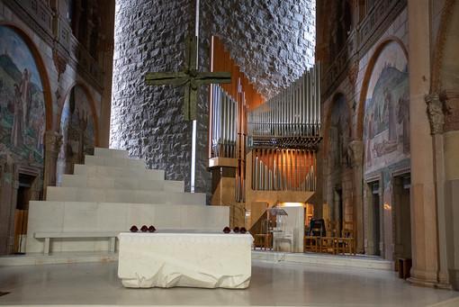 La chiesa dei Frati a Busto (foto archivio, Giovanni Garavaglia)