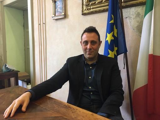 Il sindaco di Castano Primo, Giuseppe Pignatiello