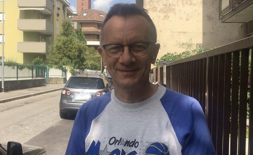 Il neo presidente Anffas Igino Portatadino