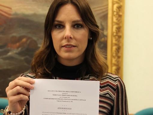 """Isabella Tovaglieri, promotrice dell'iniziativa """"Sicure senza cadere nella rete"""""""