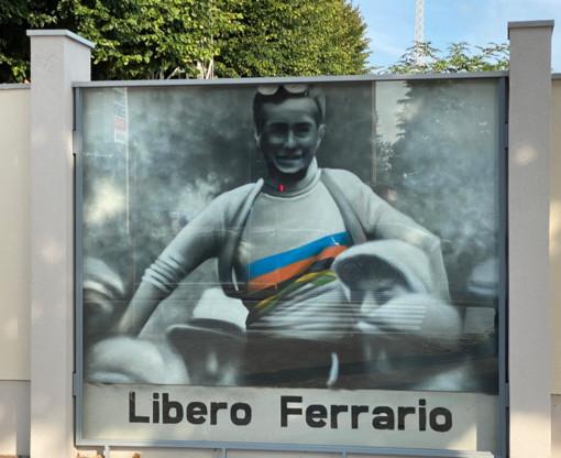 Murale dedicato a Libero Ferrario