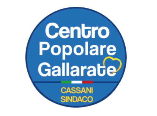 Il simbolo della lista del Centro Popolare Gallarate