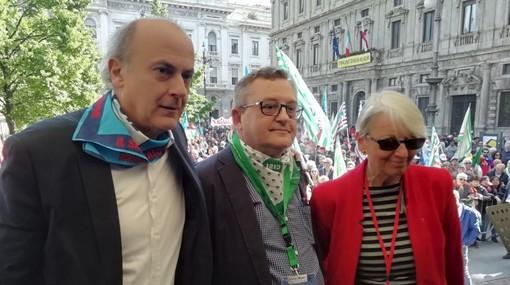 """Cgil, Cisl e Uil lombarde sulla """"nuova"""" giunta Fontana: «Ci auguriamo maggiore attenzione al confronto con i sindacati e un cambio di passo»"""