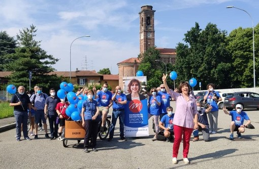 La tappa del tour di Margherita Silvestrini a Madonna in Campagna e, sotto, a Cascinetta