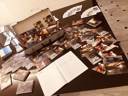 Alcune immagini della mostra a villa Jucker, a cura degli ex studenti di terza della Maria Ausiliatrice