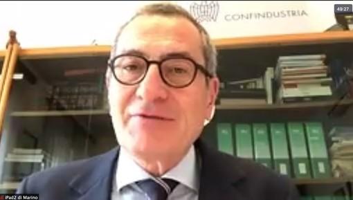 Il presidente di Sistema Moda Italia Marino Vago e sotto il rettore della Liuc