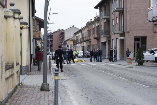 Il luogo della sparatoria, a Gallo Grinzane in provincia di Cuneo - PH BARBARA GUAZZONE