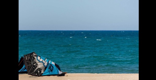 La spiaggia di Riccione